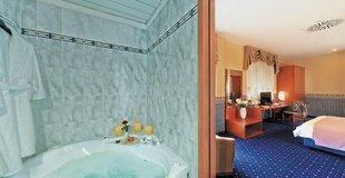 Premium-zimmer ele green park hotel pamphili rom, italien