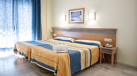 Doppelzimmer ele andarax hotel aguadulce