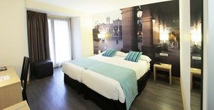 Doppelzimmer mit aussicht ele enara boutique hotel valladolid