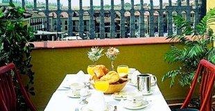 Premium-doppelzimmer mit balkon ele acueducto hotel segovia