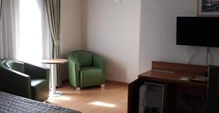 Familienzimmer ele green park hotel pamphili rom, italien