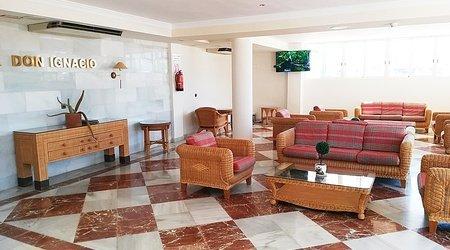 Gemeinschaftsräume ele don ignacio hotel san josé, almería