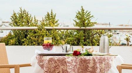 Frühstück mit aussicht hotel ele spa medina sidonia medina-sidonia
