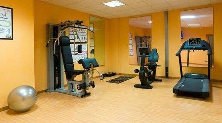 Fitnesssaal ele green park hotel pamphili rom, italien