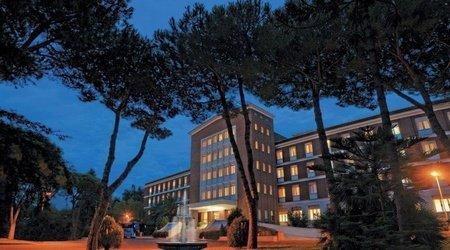 Fassade ele green park hotel pamphili rom, italien