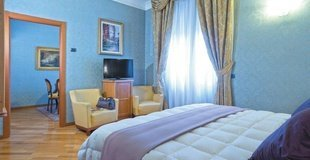 Suite ele green park hotel pamphili rom, italien