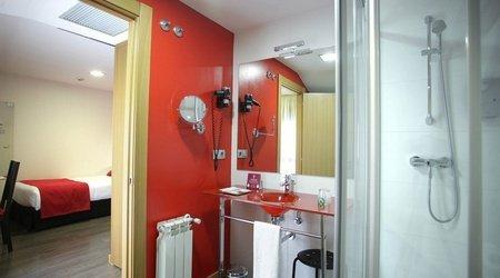 Bad einzelzimmer ele enara boutique hotel valladolid