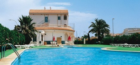 SOLARIUMBEREICH Hotel ATH Roquetas de Mar