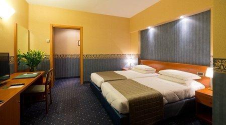 Habitación ele green park hotel pamphili rom, italien