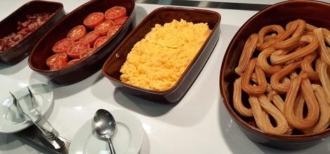 Desayuno buffet ele enara boutique hotel valladolid