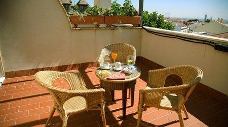 Frühstück hotel ele santa bárbara sevilla