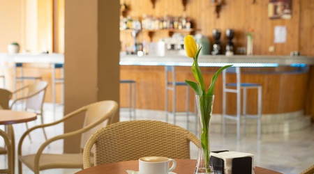Cafeteria ele andarax hotel aguadulce