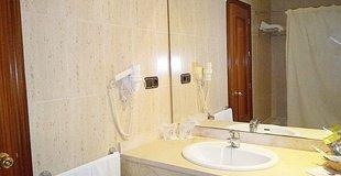 Doppelzimmer mit 1 oder 2 betten ele don ignacio hotel san josé, almería