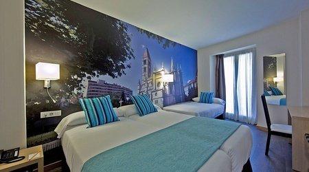 Dreibettzimmer ele enara boutique hotel valladolid
