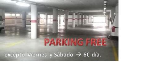 Parking free appartments ele domocenter sevilla