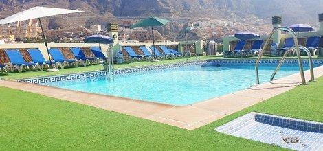 Pool im freien ele andarax hotel aguadulce