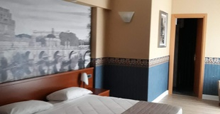 Standardzimmer ele green park hotel pamphili rom, italien