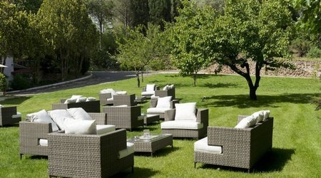 Oasis restaurant ele green park hotel pamphili rom, italien