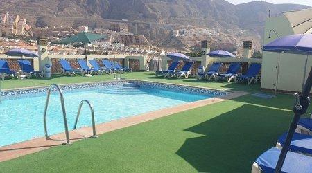Schwimmbad ele andarax hotel aguadulce