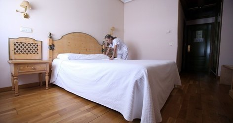 Doppelzimmer hotel ele puerta de monfragüe malpartida de plasencia