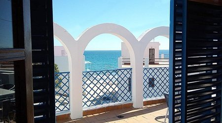 Gran terrasse appartaments ele velas blancas san josé, almería
