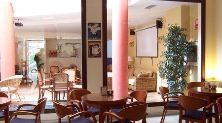 Cafeteria hotel ele santa bárbara sevilla