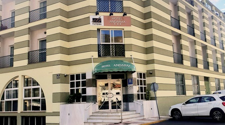 Fassade ele andarax hotel aguadulce