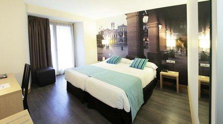 Standardzimmer mit aussicht ele enara boutique hotel valladolid