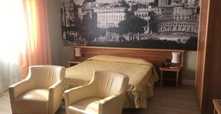 Basic zimmer ele green park hotel pamphili rom, italien