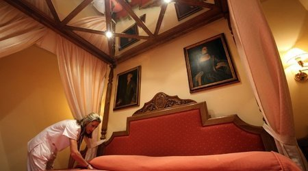 Junior suite zimmer hotel ele puerta de monfragüe malpartida de plasencia