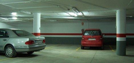 Parkplatz hotel ele santa bárbara sevilla