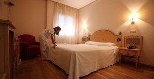 Doppelzimmer (3 erwachsene) hotel ele puerta de monfragüe malpartida de plasencia