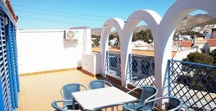 The gorgeous ocean sunsets are certain to leave you speechless. be surprised by the 3 bedroom apartment with a large terrace. its spa ele appartaments velas blancas san josé, almería